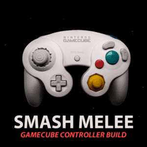 Smash Melee Modded GameCube Controller Build