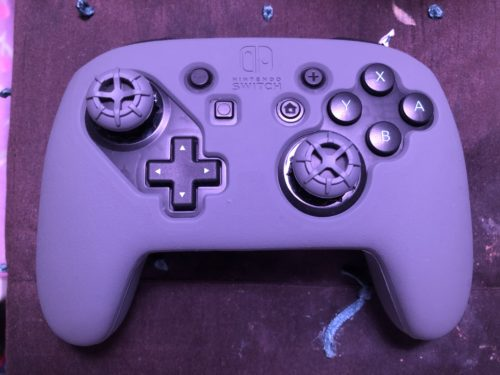 Modded Switch Pro Controller Shell - Smash Ultimate photo review