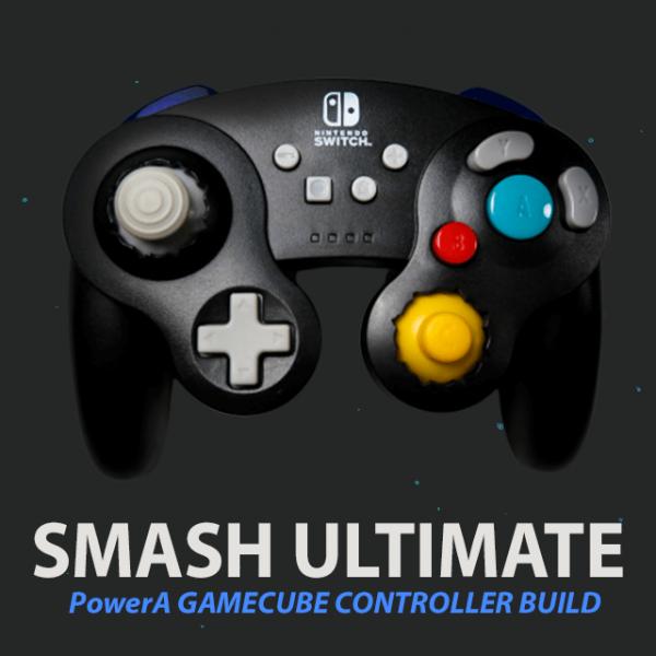 Modded PowerA GameCube Controller