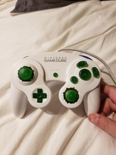 Modded GameCube Controller Notches