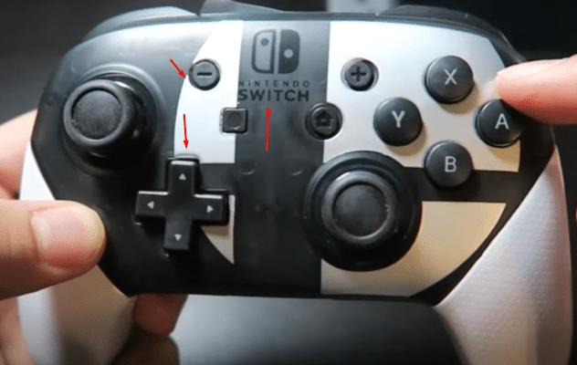 Counterfeit Nintendo Switch Pro Controller